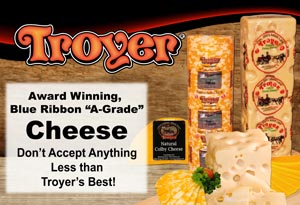 Troyer Award Winning Cheese
